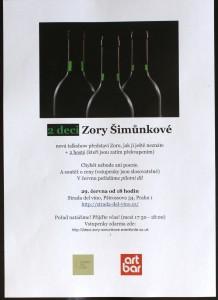 První talkshow: 2 deci Zory Šimůnkové @ Strada del vino | Praha | Hlavní město Praha | Česká republika