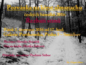 Pozvánka na křest almanachu
