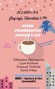 Večer přiměřených depresí č.160 @ Jiný kafe | Hlavní město Praha | Česko