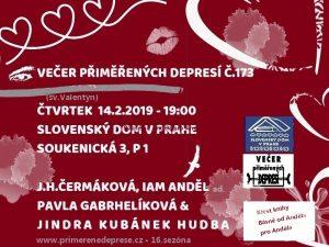 Večer přiměřených depresí č.173 @ Slovenský dům | Hlavní město Praha | Česko
