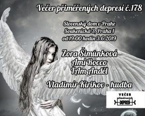Večer přiměřených depresí č.178 @ Sloveský dům v Praze