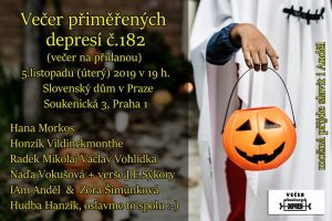 """Depky  č.182 """"na přidanou"""" @ Slovenský dům"""